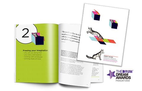 Foxes in brochure